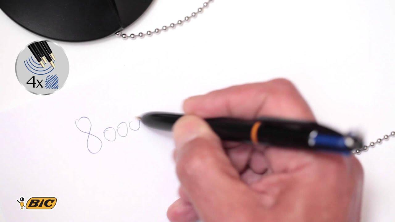 Bic 4 Colors Pen Desk Clic Jedynka W Biurze