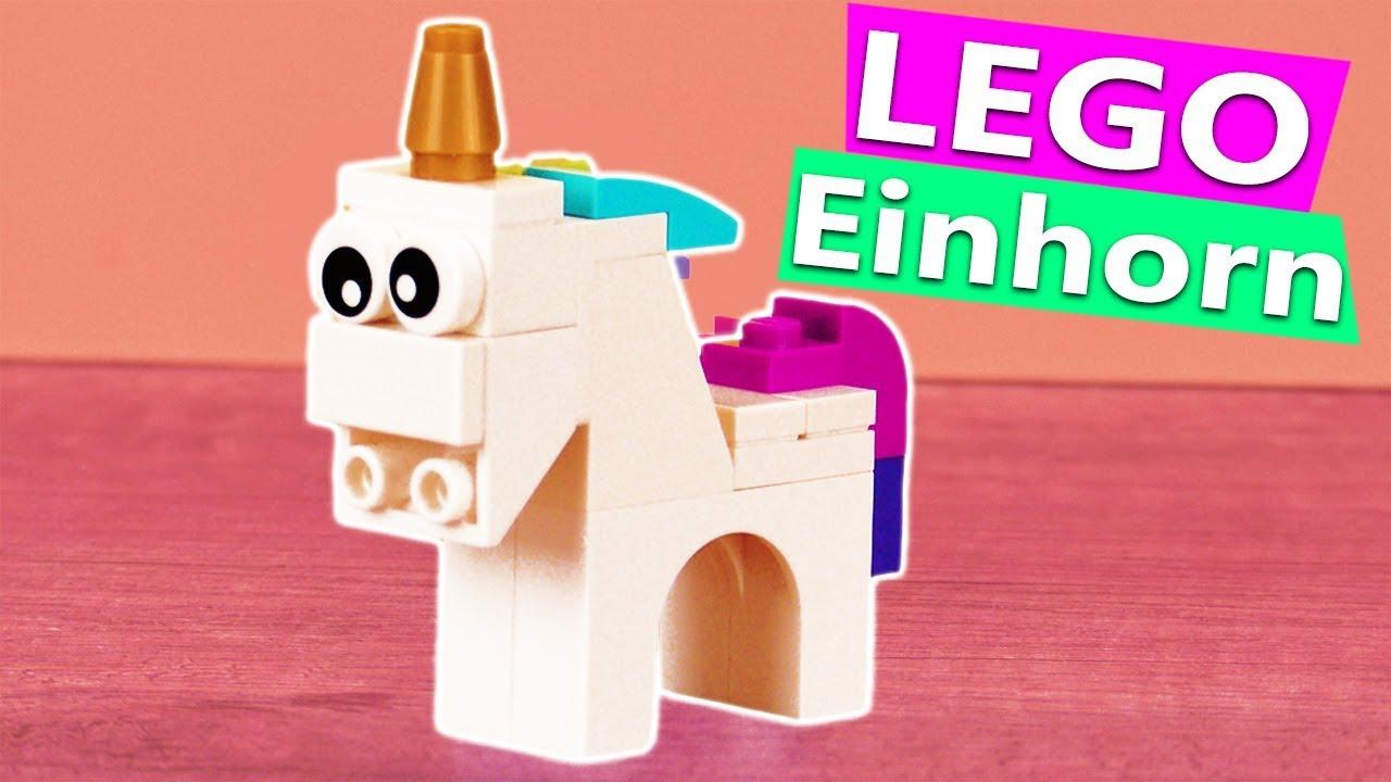 Lego Einhorn Bauen Anleitung Fur Susses Unicorn Aus Lego Zum Selber