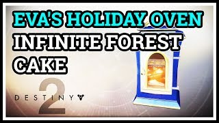 This video shows how to make Infinite Forest Cake for Eva's Holiday...