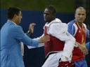 Beijing 2008 Cuban Taekwondo Athlete Attacks Referee Slideshow