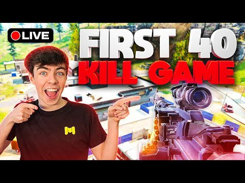 I NEED TO GET 40 KILLS In COD Mobile Battle Royale... (DAY 2)