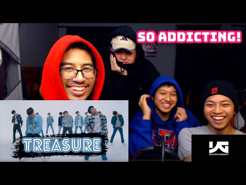 Reacting To TREASURE - 미쳐가네(Going Crazy) - VK And Friends React