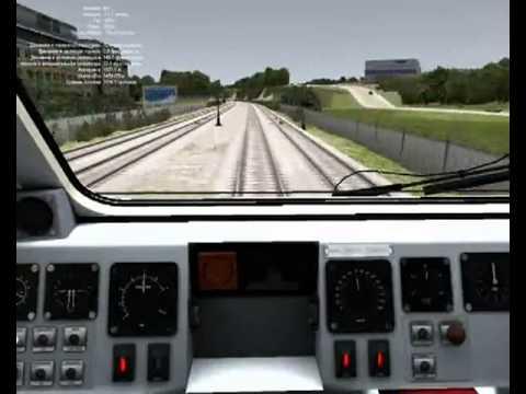 Игра Управление Поездом Из Кабины