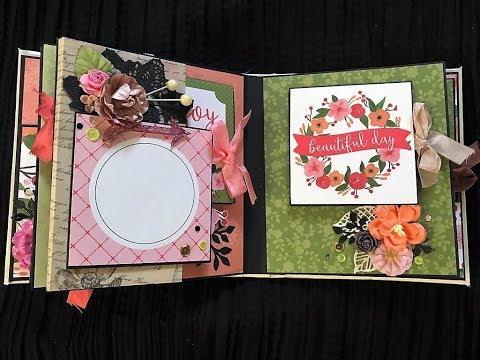 Best Scrapbook mini album - Carta Bella Flora