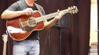 Scott Allan Mathews Guitar #2 Pencil on Wood