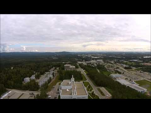 University of Alaska Fairbanks by Drone