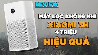 Review máy lọc không khí Xiaomi Air Purifier 3H - hiệu quả giá hợp lí!