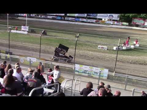 Deming Speedway, WA - Micro 600R Heat Race - June 7, 2019