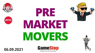 Pre Market Movers = AMC, GME, PLTR, TSLA, TLRY, AAPL, BB, SPCE, CLOV