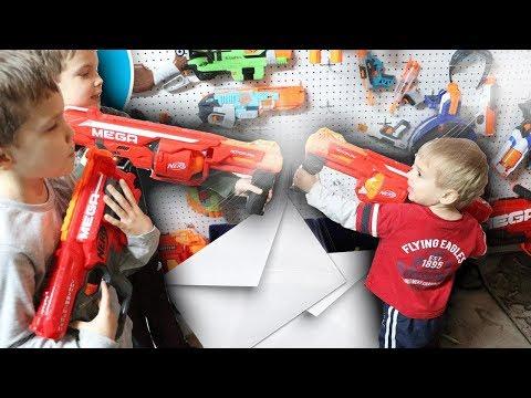 Nerf War:  Mail Time Mayhem 29 Camden Domination