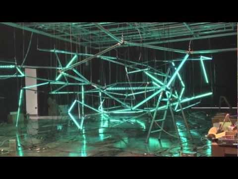 MADRIX @ Synapse RGB LED sculpture matrix