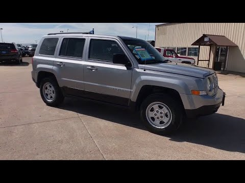 2016 Jeep Patriot Great Falls, Helena, Havre and Lewistown, ID GD714534W