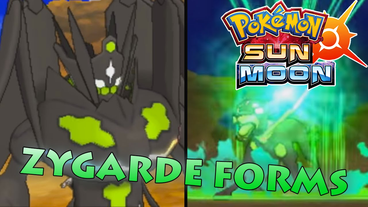 NEW ZYGARDE COMPLETE FORM GAMEPLAY & ABILITY! - Pokemon Sun ...