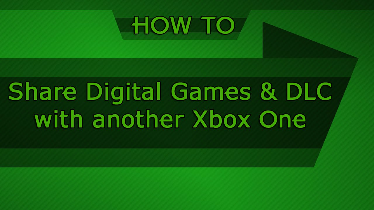 Gameshare xbox one outdated youtube ccuart Images