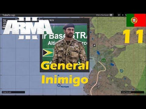 ArmA 3 Campanha [PT] Ep:11 Como encontrar o general inimigo