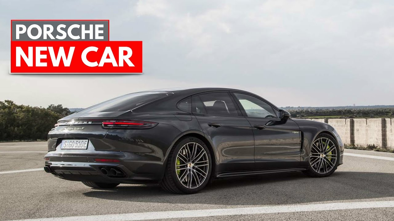 2018 Porsche Panamera Turbo S E Hybrid Youtube