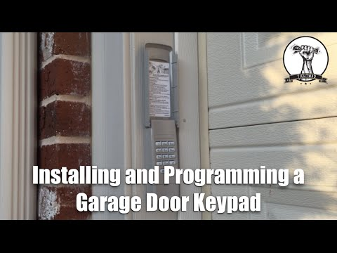 """How To Install and Program A Garage <span id=""""door-opener-keypad"""">door opener keypad</span> &#8216; class=&#8217;alignleft&#8217;>kuudesign.com &#8211; Installing A Remote Keypad Garage Door Opener Diy Project Remote Keypad Garage Door Opener. Installing a remote keypad for your garage door opener is an easy DIY project. I installed the <span id=""""liftmaster-976lm-security-garage-door"""">liftmaster 976lm security+ garage door</span> Opener Keypad for our garage doors and it was a very easy do-it-yourself project.</p> <p><a href="""