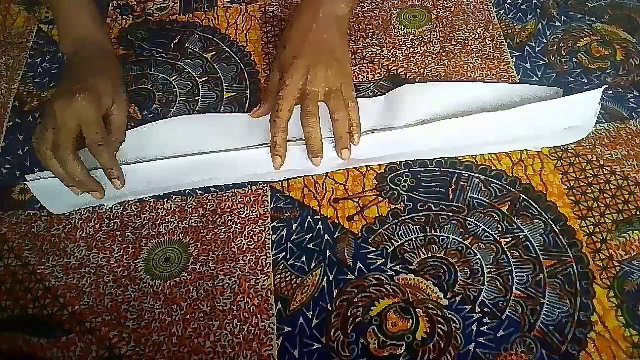 How to sew a shirt collar/DIY - YouTube