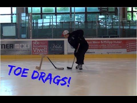 Eishockey Toe Drag Tutorial