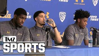 LiAngelo's Teammates Apologize for Shoplifting in China | TMZ Sports