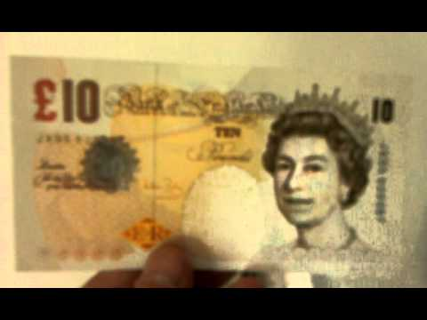 British Pounds GBP Money Currency Leftover From Vacation