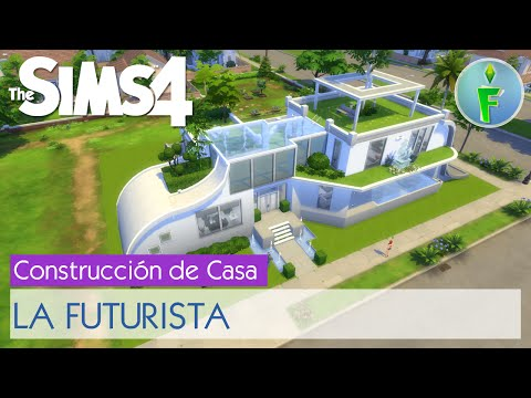 Los sims 4 casa futurista 1 funnydog tv for Casa moderna lyna