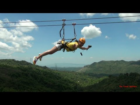 The Travel Spotters' 1.1km Zipline Adventure at Ten Cents to Heaven Tanay, Rizal