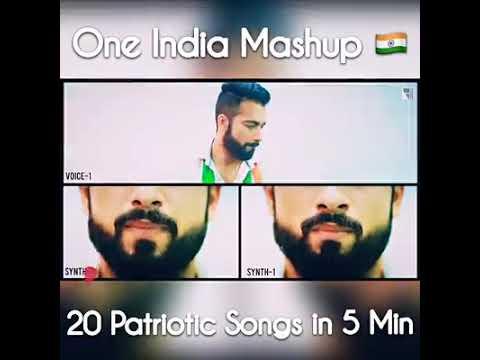 Download Chord Lirik One India Mashup 20 Patriotic Songs In 5