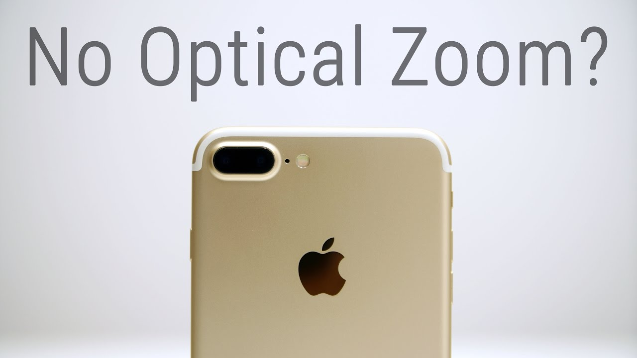 Iphone 7 Plus No Optical Zoom In Low Light Youtube