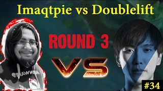 Imaqtpie VS Doublelift Both Streams| Round Three | Penta Steal | League of Legends Highlights #34