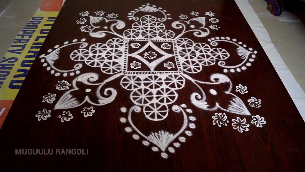 muggulu designs without dots || free hand rangoli designs ...