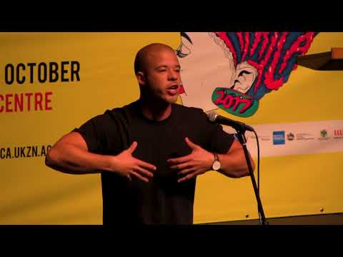 MILES HODGES AT 2017 POETRY AFRICA