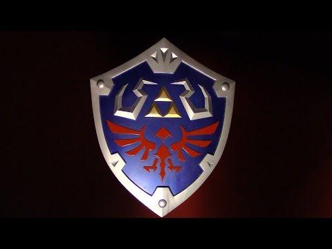 How to make Links Hylian Shield PART 1 - Skyward Sword Zelda Cosplay