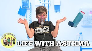 LIFE WITH ASTHMA | STAYED HOME FROM SCHOOL SICK | ASTHMA TREATMENT | PHILLIPS FamBam Vlogs