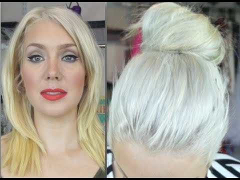 How To Banish Yellow From Blonde Hair Youtube