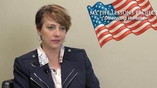My Life Lessons Project - Showcasing Veterans Meet Melissa Rosa