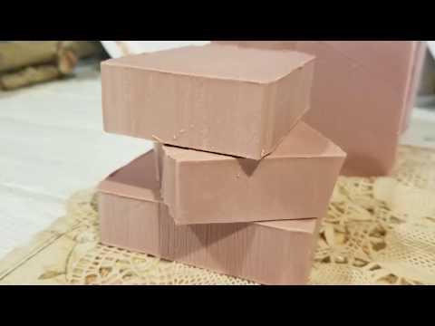 Making Calamine Lotion Soap