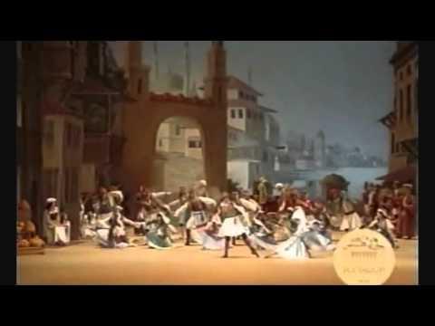 Le Corsaire-Danse des forbans (Pirate Dance) & Escape Scene Act 1 (Bolshoi Ballet 2007)