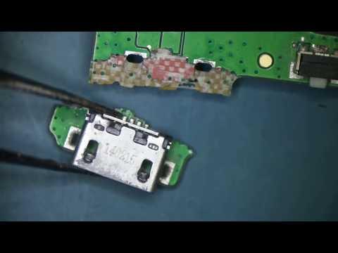 Ремонт планшета Lenovo IdeaTab A7600-H.  Ремонт разъема.