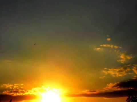 ANNA MARIA CHERCHI -tramonto su CAGLIARI del cinque Agosto