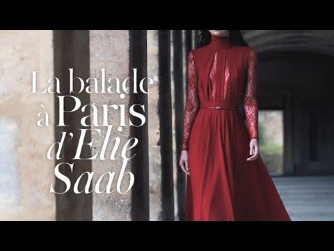 Balade à Paris avec Elie Saab