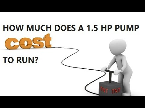 How Much Does It Cost To Run A Pool Pump?
