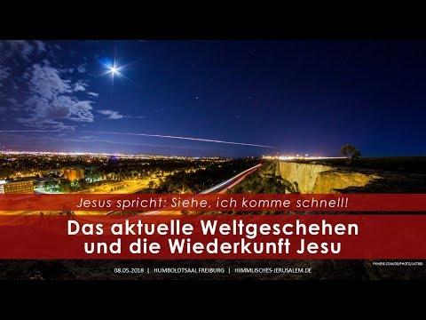 Vortrag in Freiburg - Das aktuelle Weltgeschehen und die Wiederkunft Jesu