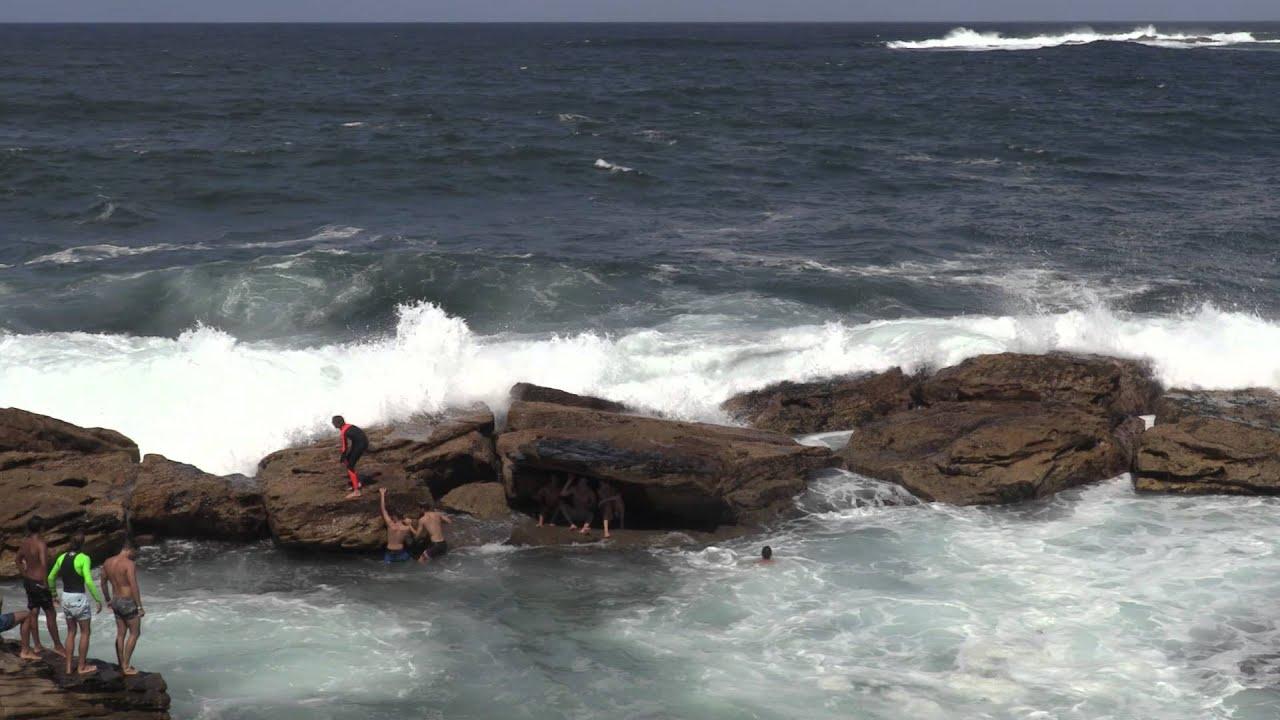 Coogee Rock Pool Swell Hd