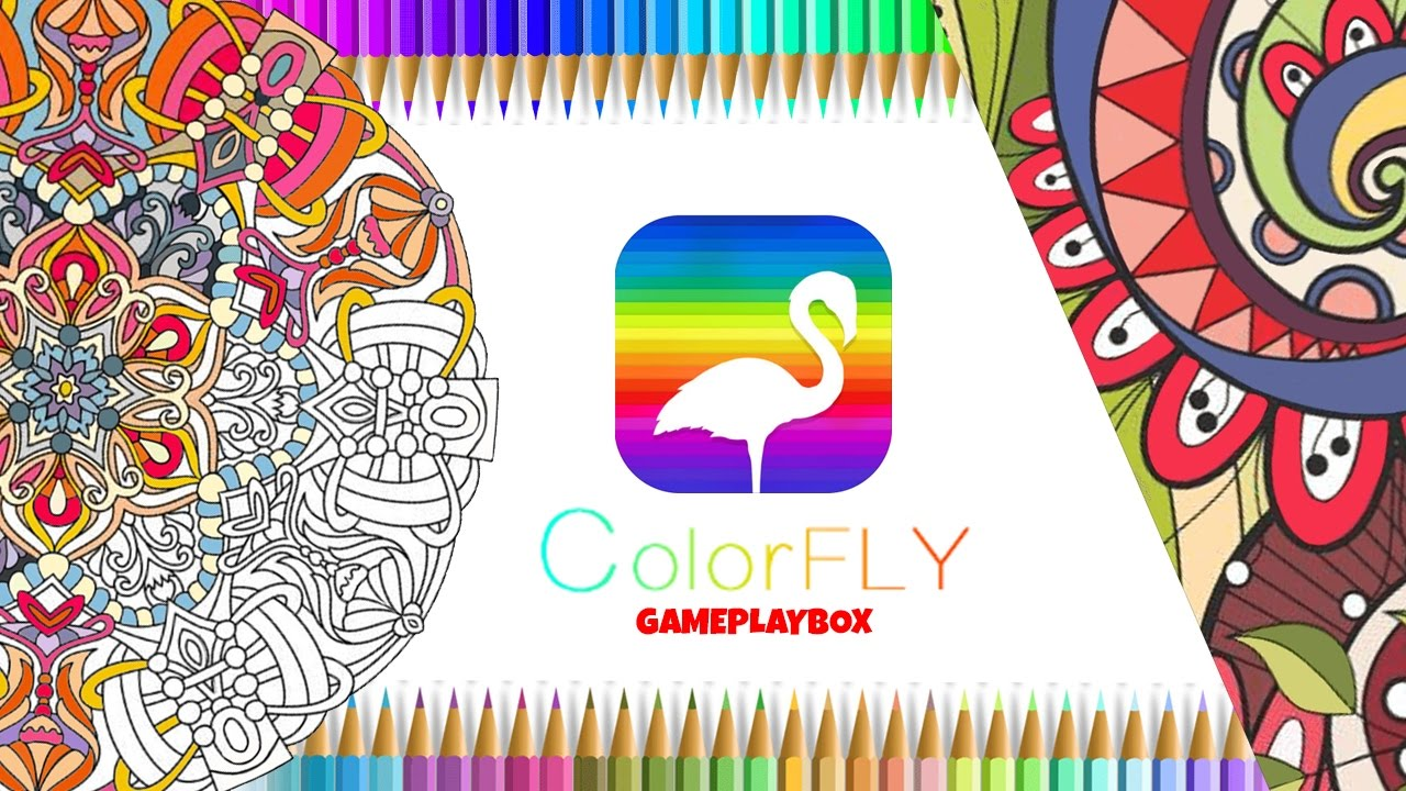 Colorfly Coloring Games By Free