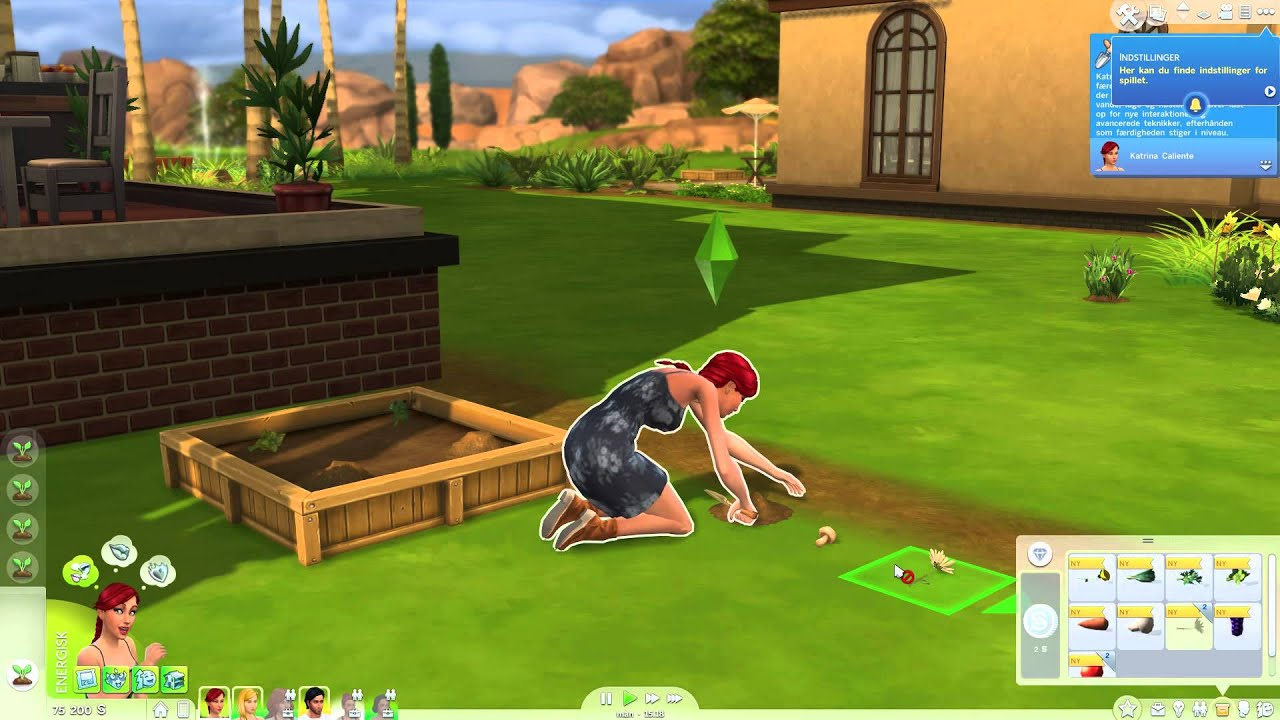 how to become a gardener the sims 4