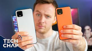 Google Pixel 4 vs 4 XL - Unboxing & Impressions - A Big Upgrade? | The Tech Chap
