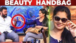 Beauty Secret Of Sun News Anchor Anitha Sampath | What's Inside the HANDBAG