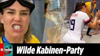Twerk-Party in der Kabine: US-Girls feiern WM-Titel