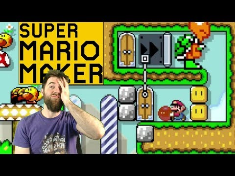This is WRINKLING MY BRAIN // Perplexing Twitter Action! [SUPER MARIO MAKER]